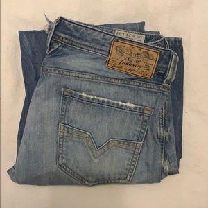 Diesel distressed jeans size 34